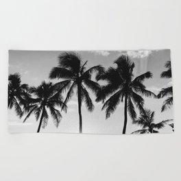 Hawaiian Palms II Beach Towel