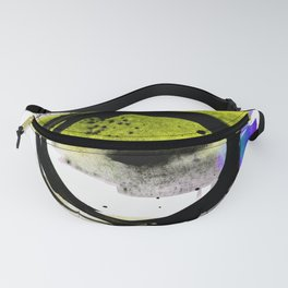 Enso Abstraction o. 113N by Kathy Morton Stanion Fanny Pack
