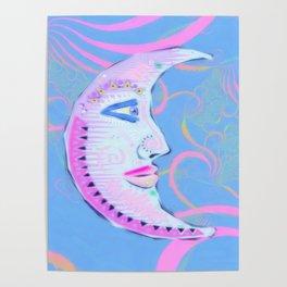 Pastello Luna Poster