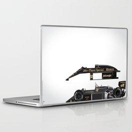 Ayrton Senna, Lotus 98T-Renault, 1986 Laptop & iPad Skin