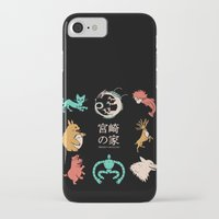 miyazaki iPhone & iPod Cases featuring House of Miyazaki by le.duc