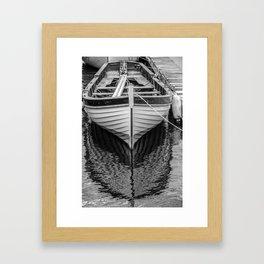 Sailboat at Rest Framed Art Print