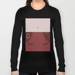Kira Nerys - Minimalist Star Trek DS9 Deep Space Nine - Major  - startrek - Trektangles Long Sleeve T-shirt