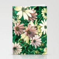 daisies Stationery Cards featuring Daisies by Loredana:Flowers