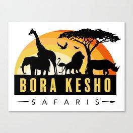 Bora Kesho Safaris Canvas Print