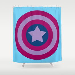American Pride (bisexual edition) Shower Curtain