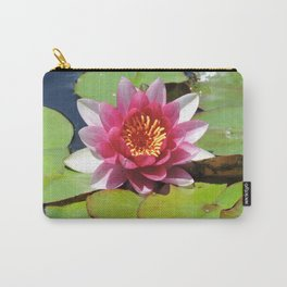 Water Lily at the Mission San Juan Capistrano Carry-All Pouch