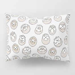 HEDGEHOG PATTERN BEIGE Pillow Sham