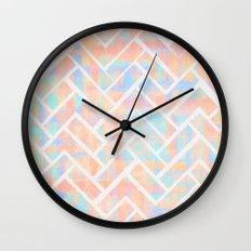 Chevroni Beach Wall Clock