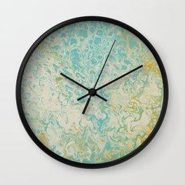 Pastel Mermaid Wall Clock
