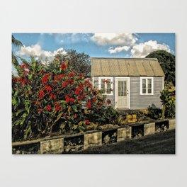 House, Barbados Canvas Print