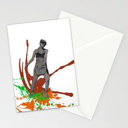 King Kong Girl Stationery Cards