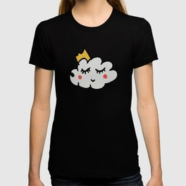 April showers king cloud White #nursery T-shirt