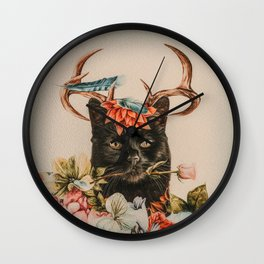 Bombay Catalope Wall Clock