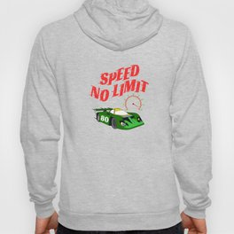 """Made specially for auto-racing lovers out there! Makes a nice gift too! """"Speed No Limit"""" tee design Hoody"""
