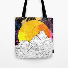 Cosmos Mounts Tote Bag