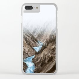 Yellowstone Clear iPhone Case