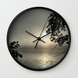 Early Morning Ghosts Wall Clock