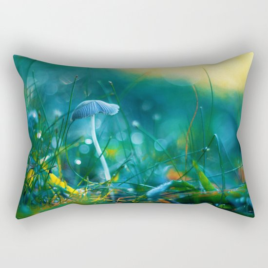 Emerging to Ocean Rectangular Pillow