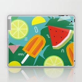 Watermelon, Lemon and Ice Lolly Laptop & iPad Skin