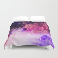 nebula Duvet Covers featuring NebulA. by 2sweet4words Designs