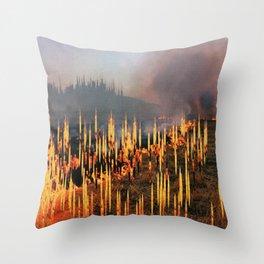 Deaths Throw Pillow