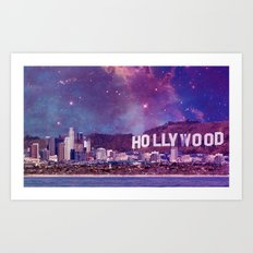 Hipsterland - Los Angeles Art Print