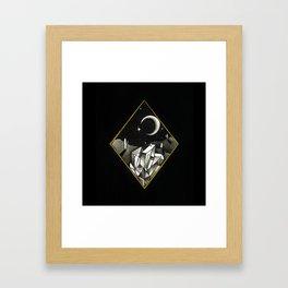 Crystal Cacti Framed Art Print