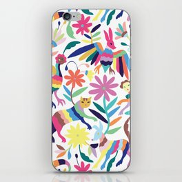 Creatures Otomi Print iPhone Skin