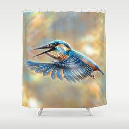 Kingfisher Shower Curtain