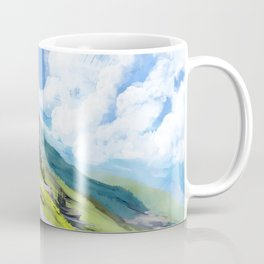 mountain path (from emery) Coffee Mug