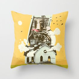 GOSPEL MUSIC ENGINE Throw Pillow