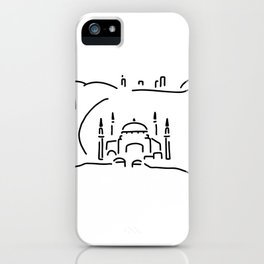 istanbul hagia sophia iPhone Case