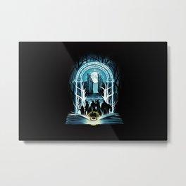 Magic Ring Metal Print