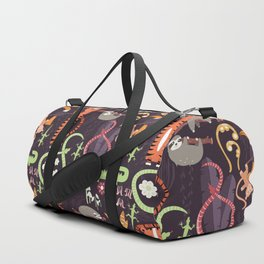 Rain forest animals 002 Duffle Bag