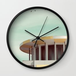 Chequered Love Wall Clock