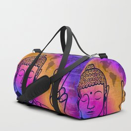 Buddha World Peace Duffle Bag