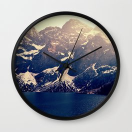 Fairytale - Morskie Oko Wall Clock