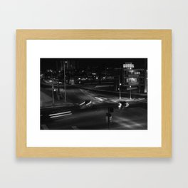 """Motel"" Framed Art Print"