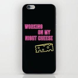 Working on My Night Cheese iPhone Skin