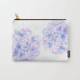 purple blue hydrangea Carry-All Pouch