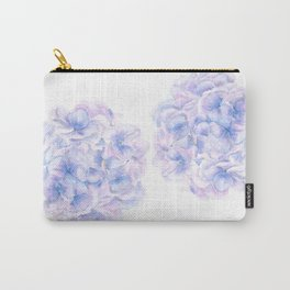 purple blue hydrangea Carry-All Pouch
