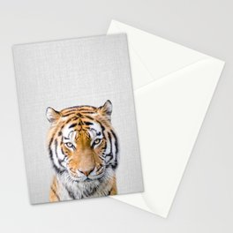 Tiger - Colorful Stationery Cards