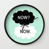 tfios Wall Clocks featuring Now by Beautiful Homes