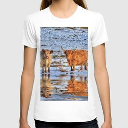 Sarah & Hamish - Highland Cattle T-shirt