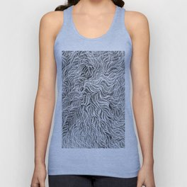 Embroidery Sketch Unisex Tank Top
