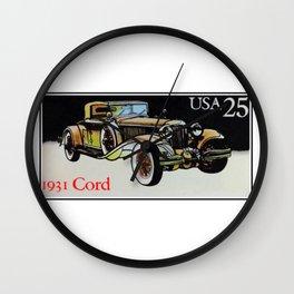1931 cord Wall Clock