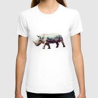 rhino T-shirts featuring Rhino by 83 Oranges™