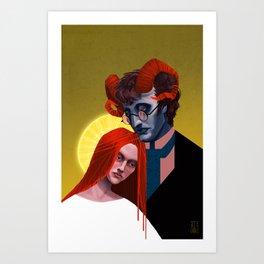 Virtue Art Print
