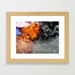 Color washing Framed Art Print